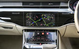 Audi A8 50 TDI infotainment system
