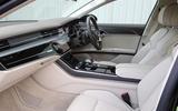 Audi A8 50 TDI interior