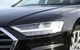 Audi A8 50 TDI LED headlights