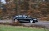 Audi A8 50 TDI on the road