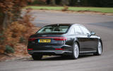 Audi A8 50 TDI rear cornering
