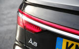 Audi A8 50 TDI rear lights