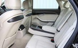 Audi A8 50 TDI rear seats