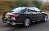 Audi A8 50 TDI rear