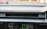 Audi A8 50 TDI revealed air vents