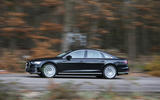 Audi A8 50 TDI side profile