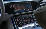 Audi A8 infotainment system