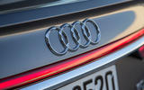 Audi A8 rear badging