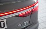 Audi A8 rear lights