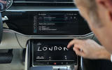 Audi A8 writing recognition