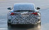 2021 Audi E-tron GT camouflaged prototype - rear end