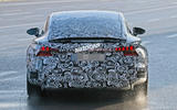 2021 Audi E-tron GT camouflaged prototype - rear end