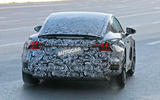 2021 Audi E-tron GT camouflaged prototype - rear