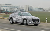 Audi E-tron Sportback 2020 spies - hero side