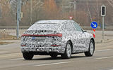 Audi E-tron Sportback 2020 spies - rear