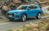 Audi Q3 front shot