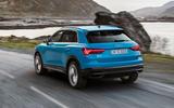 Audi Q3 rear shot