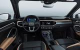 Audi Q3 dash shot