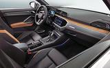 Audi Q3 interior shot