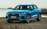 Audi Q3 front static shot