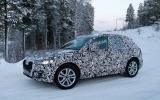 Audi Q5 spy shots winter testing