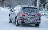 Audi Q5 spy shots winter testing