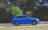 Audi Q5 55 TFSIe quattro side profile on the road