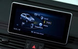 Audi Q5 55 TFSIe quattro touchscreen