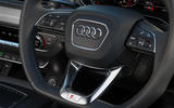 Audi Q5 55 TFSIe quattro steering wheel