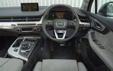 Audi Q7 e-tron dashboard