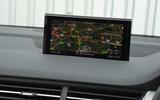 Audi Q7 e-tron MMI infotainment system