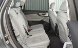 Audi Q7 e-tron rear seats