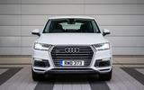 Audi Q7 e-tron front end
