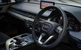 Audi Q7 e-tron interior