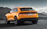 Audi Q8 concept rear