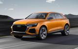 Audi Q8 concept front