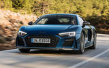 Audi R8 2018 front tracking