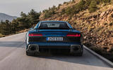 Audi R8 2018 on the road