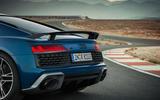 Audi R8 2018 spoiler