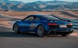 Audi R8 2018 rear three quarter