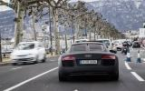 Audi R8 e-tron in traffic