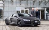 4 star Audi R8 e-tron prototype