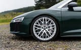 Audi R8 Spyder V10 Plus alloy wheels