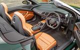 Audi R8 Spyder V10 Plus interior
