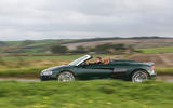 Audi R8 Spyder V10 Plus on the road