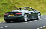 Audi R8 Spyder V10 Plus rear
