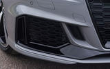 Audi RS3 saloon front air intakes