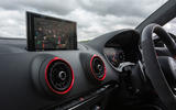 Audi RS3 saloon MMI infotainment system