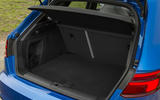 Audi RS3 Sportback boot space