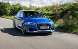 Audi RS3 Sportback front quarter